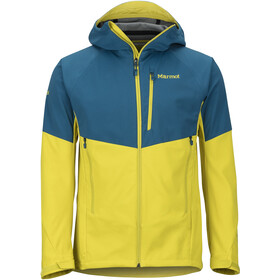 Marmot ROM Jacket Men moroccan blue/citronelle